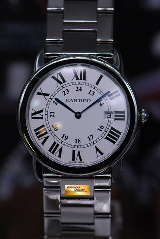 [SOLD] CARTIER RONDE SOLO 36mm STAINLESS STEEL QUARTZ 2934 (MINT)