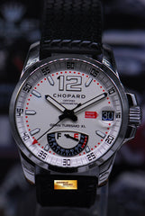CHOPARD GRAN TURISMO XL POWER RESERVE 44mm WHITE 8997 (MINT)