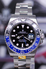 "ROLEX OYSTER PERPETUAL GMT-MASTER II ""BATMAN"" CERAMIC (NEW OLD STOCK)"