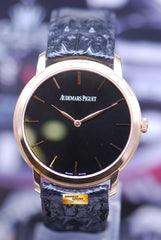 AUDEMARS PIGUET JULES AUDEMARS 18K ROSE GOLD ULTRA THIN AUTOMATIC 15180OR (NEAR MINT)