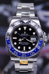 "ROLEX OYSTER PERPETUAL GMT-MASTER II ""BATMAN"" CERAMIC (MINT) (NO B&P)"