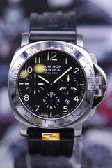 PANERAI LUMINOR DAYLIGHT 44mm CHRONOGRAPH AUTOMATIC PAM 196 (MINT)