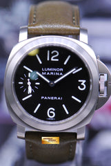 PANERAI LUMINOR MARINA 44mm TITANIUM BASE MANUAL PAM 177 (MINT)