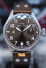 "IWC BIG PILOT ""ANTOINE SAINT EXUPERY"" 46mm 7-DAYS POWER RESERVE LIMITED EDITION IW5004-22  (MINT)"
