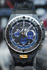 HUBLOT BIG BANG F1 INTERLAGOS 48mm CHRONOGRAPH CARBON LIMITED EDITION AUTOMATIC 703.QM.1129.HR.FIL11 (MINT)