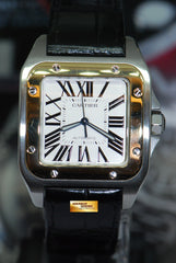 CARTIER SANTOS 100 XL HALF-GOLD AUTOMATIC 2656 (MINT)