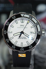 IWC AQUATIMER 2000 45mm AUTOMATIC WHITE IW3568-06 (MINT)