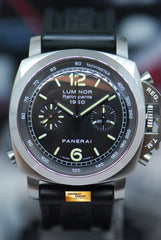 PANERAI LUMINOR RATTRAPANTE 1950 CHRONOGRAPH 44mm AUTOMATIC PAM 213 (MINT)