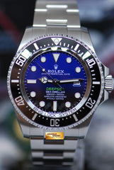 ROLEX OYSTER DEEPSEA SEA-DWELLER 44mm BLUE (NEW MODEL 2018) 126660 (NEW)
