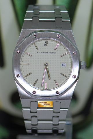 AUDEMARS PIGUET ROYAL OAK 33mm QUARTZ WHITE 56175ST (NEAR MINT)