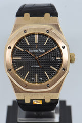 [SOLD] AUDEMARS PIGUET ROYAL OAK 41mm 18K ROSE GOLD AUTOMATIC 15400OR (NEAR MINT)