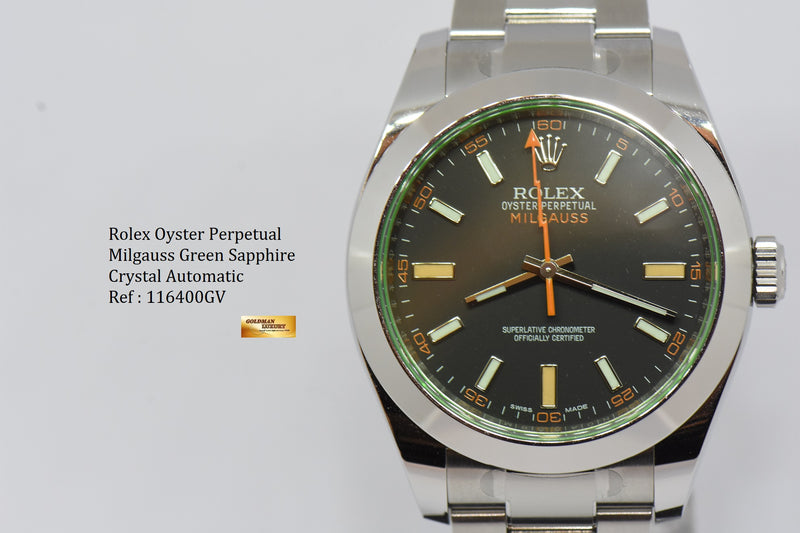 products/GML2125_-_Rolex_Oyster_Milgauss_Green_Sapphire_39mm_Automatic_116400GV_NEW_-_10.JPG