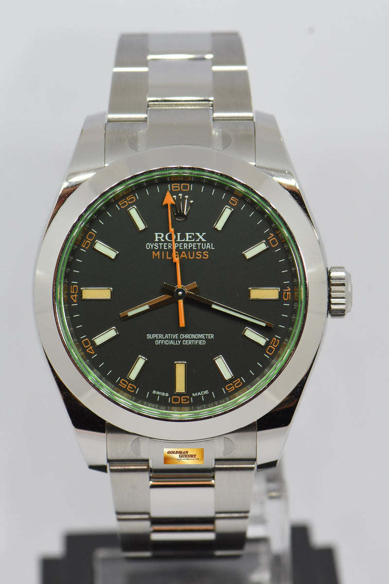 products/GML2125_-_Rolex_Oyster_Milgauss_Green_Sapphire_39mm_Automatic_116400GV_NEW_-_1.JPG