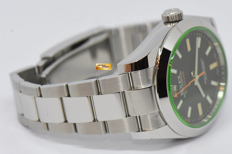 products/GML2125_-_Rolex_Oyster_Milgauss_Green_Sapphire_39mm_Automatic_116400GV_NEW_-_6.JPG