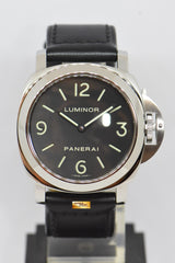 PANERAI LUMINOR HISTORIC BASE 44mm MANUAL PAM 112 (MINT)