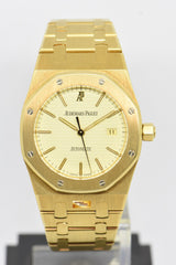 [SOLD] AUDEMARS PIGUET ROYAL OAK 33mm 18K YELLOW GOLD AUTOMATIC 14790BA (MINT)