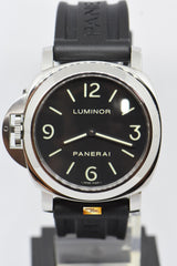 PANERAI LUMINOR BASE DESTRO (LEFTY) 44mm MANUAL PAM 219 (NEAR MINT)
