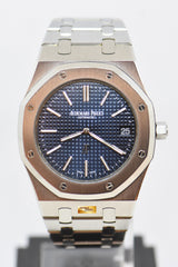 [SOLD] AUDEMARS PIGUET ROYAL OAK JUMBO ULTRA THIN 39mm BLUE AUTOMATIC 15202ST (NEAR MINT) (UNPOLISHED)