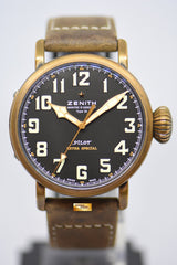 ZENITH PILOT TYPE 20 EXTRA SPECIAL 45mm BRONZE AUTOMATIC 29.2430.679 (MINT)