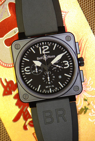 [SOLD] BELL & ROSS AVIATION BR01-94 CHRONOGRAPH (NEW-UNWORN)