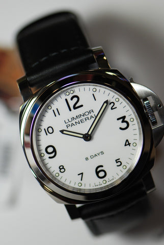 [SOLD] PANERAI LUMINOR MARINA 8-DAYS MANUAL WHITE (NEW-UNWORN)