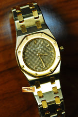 [ SOLD ] AUDEMARS PIGUET ROYAL OAK LADIES HALF-GOLD QUARTZ