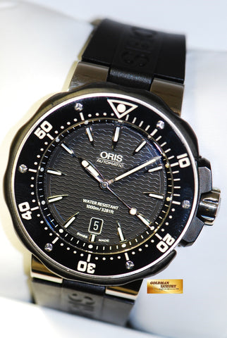[SOLD] ORIS DIVER TITANIUM 45mm AUTOMATIC BLACK (NEAR MINT)