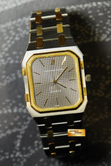 [SOLD] AUDEMARS PIGUET ROYAL OAK HALF-GOLD SQUARE QUARTZ (NEAR MINT)