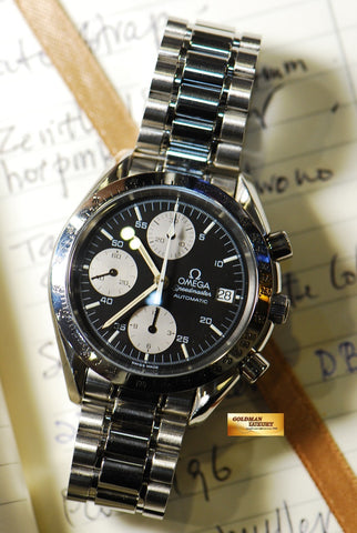 [SOLD] OMEGA SPEEDMASTER CHRONOGRAPH DATE AUTOMATIC (NEAR MINT)