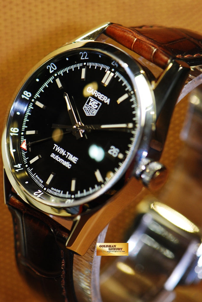 Sold Tag Heuer Carrera Twin Time Calibre 7 Automatic