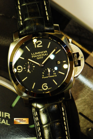 [ SOLD ] PANERAI LUMINOR GMT POWER RESERVE PAM321