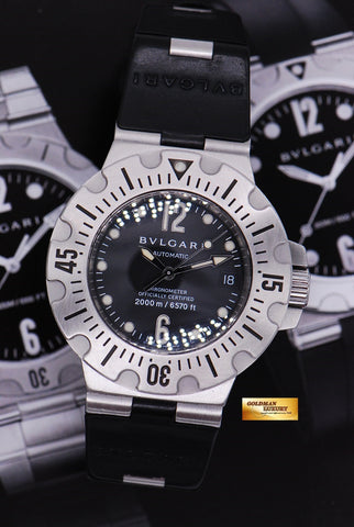 [SOLD] BVLGARI DIAGONO SCUBA DIVER 42mm AUTOMATIC (NEAR MINT)