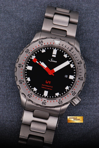 [SOLD] SINN U1 DIVER TEGIMENT STEEL BRACELET AUTOMATIC