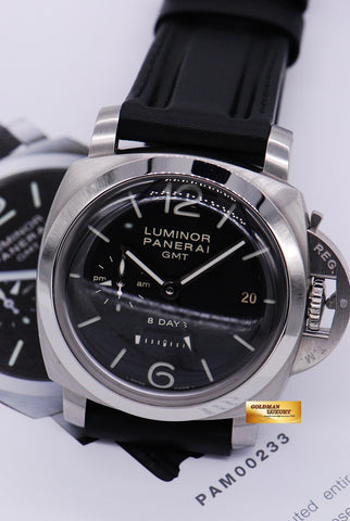 [SOLD] PANERAI LUMINOR 1950 8-DAYS GMT MANUAL