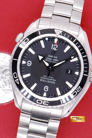 [SOLD] OMEGA SEAMASTER PLANET OCEAN 45.5mm AUTOMATIC BLACK