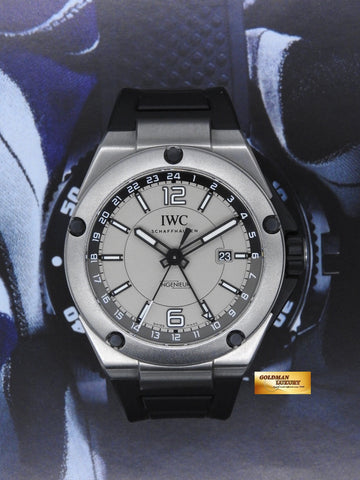 [ SOLD ] IWC INGENIEUR DUAL TIME 45mm TITANIUM AUTOMATIC