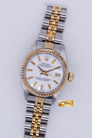 [SOLD] ROLEX OYSTER DATEJUST HALF-GOLD Ref 6917