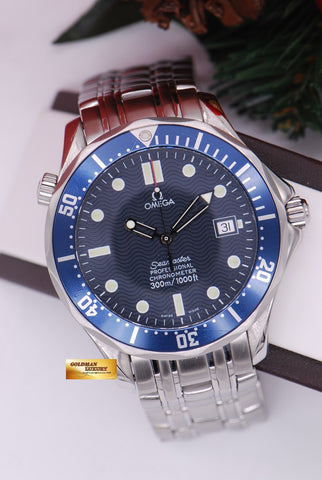 [ SOLD ] OMEGA SEAMASTER PROFESSIONAL DIVER 41mm AUTOMATIC BLUE