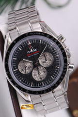 "[ SOLD ] OMEGA SPEEDMASTER MOON WATCH ""APOLLO-SOYUZ"" METEORITE DIAL CHRONOGRAPH C.1861"