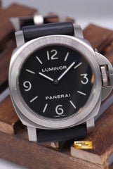 [ SOLD ] PANERAI LUMINOR TITANIUM PAM 176 MANUAL