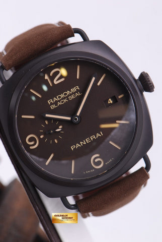 [SOLD] PANERAI BLACK SEAL CERAMIC PAM 505 AUTOMATIC
