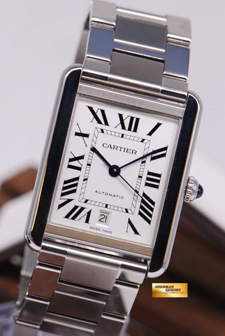 [SOLD] CARTIER TANK SOLO XL SS AUTOMATIC