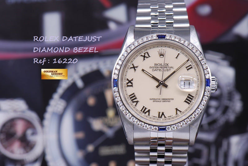 products/GML999_-_Rolex_Oyster_Perpetual_Datejust_16220_Diamond_Bezel_NEAR_MINT_-_11.JPG