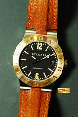[ SOLD ] BVLGARI DIAGONO HALF-GOLD 36mm AUTOMATIC