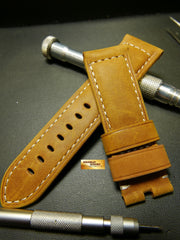 PANERAI STRAP SUEDE BROWN