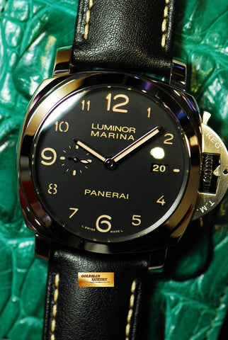 [SOLD] PANERAI LUMINOR MARINA PAM 359 ARABIC NUMERAL AUTOMATIC