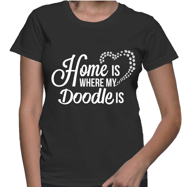 Home Is Where My Doodle Is (White)