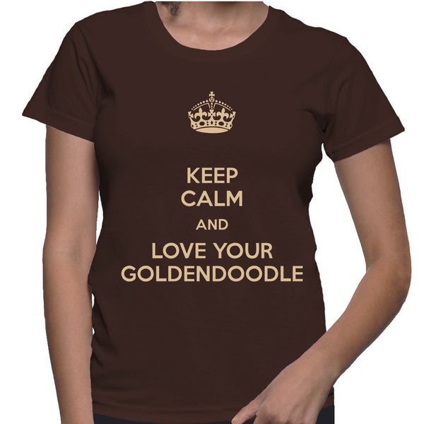 Keep Calm and Love Your Goldendoodle