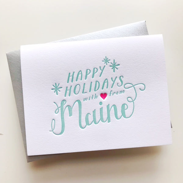 Happy Holidays from Maine | Parrott Design Studio