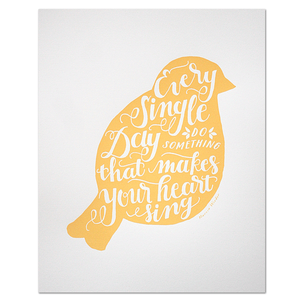 Bird Art Print | Parrott Design Studio